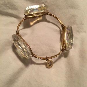 Bourbon & Bowties stone bracelet- Iridescent